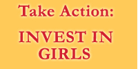 Take Action: Invest in girls